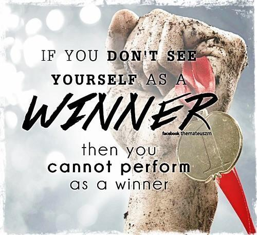 see yourself as a winner